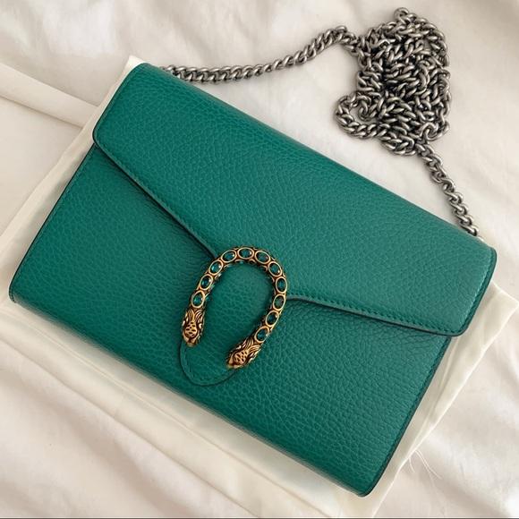 Gucci Bags Gucci Dionysus Wallet On Chain Clutch Crossbody Poshmark